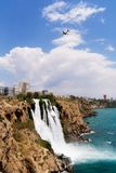 Καταρράκτης σε Antalya Στοκ Φωτογραφία