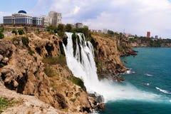Καταρράκτης σε Antalya Στοκ εικόνα με δικαίωμα ελεύθερης χρήσης