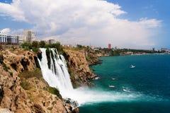 Καταρράκτης σε Antalya Στοκ φωτογραφία με δικαίωμα ελεύθερης χρήσης
