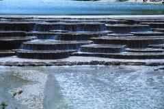 Καταρράκτης στην μπλε κοιλάδα φεγγαριών, Lijiang, Κίνα Στοκ φωτογραφία με δικαίωμα ελεύθερης χρήσης