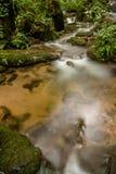 Καταρράκτης στη δασική Ταϊλάνδη στοκ εικόνες