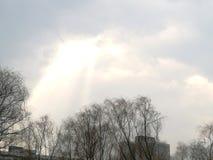 καταρράκτης στον ουρανό Στοκ φωτογραφία με δικαίωμα ελεύθερης χρήσης
