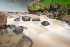 Καταρράκτης στο βουνό στο Βιετνάμ Στοκ εικόνα με δικαίωμα ελεύθερης χρήσης