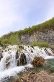 Καταρράκτης στο εθνικό πάρκο της Κροατίας Στοκ Εικόνες