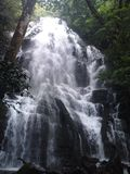 Καταρράκτης στο εθνικό πάρκο Ricon de Λα Vieja στοκ φωτογραφία με δικαίωμα ελεύθερης χρήσης