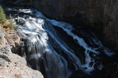Καταρράκτης στο εθνικό πάρκο Yellowstone Στοκ Φωτογραφία