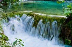 Καταρράκτης στο πάρκο λιμνών Plitvice, Κροατία Στοκ εικόνες με δικαίωμα ελεύθερης χρήσης