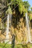 Καταρράκτης στο πάρκο λιμνών Plitvice Στοκ Φωτογραφίες