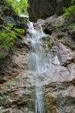 Καταρράκτης στο φαράγγι Kysel στο σλοβάκικο εθνικό πάρκο παραδείσου, Σλοβακία Στοκ εικόνα με δικαίωμα ελεύθερης χρήσης
