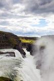 Καταρράκτης στο χρυσό κύκλο της Ισλανδίας Στοκ Εικόνα