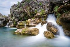 Καταρράκτης του ποταμού Cijevna Στοκ φωτογραφία με δικαίωμα ελεύθερης χρήσης