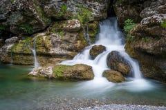 Καταρράκτης του ποταμού Cijevna Στοκ φωτογραφίες με δικαίωμα ελεύθερης χρήσης