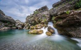 Καταρράκτης του ποταμού Cijevna Στοκ εικόνα με δικαίωμα ελεύθερης χρήσης