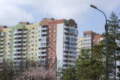 Καταρράκτης των νέων πολυκατοικιών Στοκ εικόνες με δικαίωμα ελεύθερης χρήσης