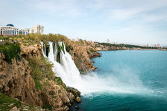 Καταρράκτης Antalya, Τουρκία Στοκ Φωτογραφίες