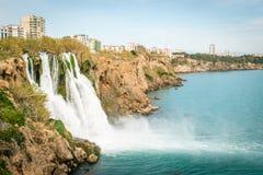 Καταρράκτης Antalya, Τουρκία Στοκ εικόνες με δικαίωμα ελεύθερης χρήσης