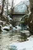 Καταρράκτης Bigar παγωμένος Στοκ εικόνα με δικαίωμα ελεύθερης χρήσης