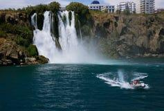 Καταρράκτης Duden σε Antalya, Τουρκία Στοκ Φωτογραφίες