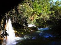 Καταρράκτης Duden, Antalya Στοκ φωτογραφίες με δικαίωμα ελεύθερης χρήσης