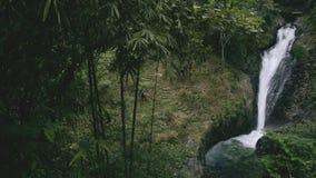 Καταρράκτης Gitgit στην Ινδονησία Μπαλί φιλμ μικρού μήκους
