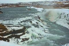 Καταρράκτης Gullfoss στοκ εικόνες με δικαίωμα ελεύθερης χρήσης