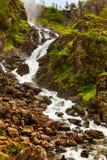 Καταρράκτης Laatefossen σε Hardanger Νορβηγία στοκ φωτογραφία με δικαίωμα ελεύθερης χρήσης
