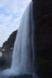 Καταρράκτης Seljalandsfoss στοκ εικόνες