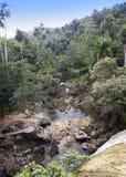 Καταρράκτης Soroa, Pinar del Rio, Κούβα στοκ εικόνες