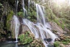 Καταρράκτης Soroa, Pinar del Rio, Κούβα στοκ εικόνα με δικαίωμα ελεύθερης χρήσης