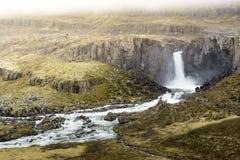Καταρράκτης Unknow στην Ισλανδία Στοκ εικόνα με δικαίωμα ελεύθερης χρήσης