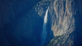 Καταρράκτης Yosemite απόθεμα βίντεο