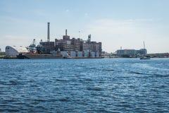 Καταρρίπτει την προκυμαία καντονίου σημείου στη Βαλτιμόρη, Μέρυλαντ Στοκ φωτογραφία με δικαίωμα ελεύθερης χρήσης