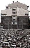 Καταρρεσμένο κτήριο Στοκ Εικόνες