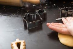 Κατασκευάζοντας τη ζύμη εκ του μηδενός Στοκ Φωτογραφίες