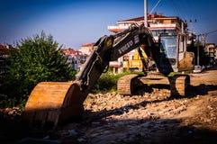 Κατασκευές αστικής ανανέωσης Στοκ Εικόνες