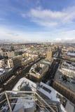 Κατασκευές στον ουρανοξύστη Στοκ Φωτογραφία