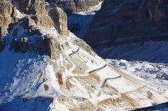 κατασκευές χιονοστιβά&del Στοκ Φωτογραφίες