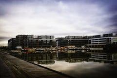 Κατασκευή ακτών Στοκ Φωτογραφία