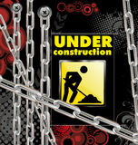 κατασκευή ανασκόπησης κάτω Στοκ Εικόνα