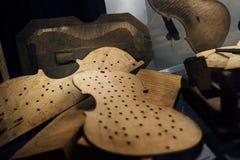 Κατασκευή βιολιών - κατασκευαστής βιολιών manufactory Στοκ εικόνες με δικαίωμα ελεύθερης χρήσης