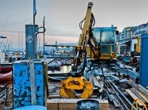 κατασκευή Γενεύη ΙΙ εικονικής παράστασης πόλης αποβάθρα Στοκ Εικόνες