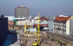 κατασκευή Γερμανία berin Στοκ Φωτογραφία