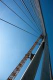 κατασκευή γεφυρών κάτω Στοκ Φωτογραφίες