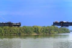 κατασκευή γεφυρών κάτω Στοκ Εικόνα