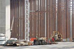 κατασκευή γεφυρών κόλπω&n Στοκ εικόνες με δικαίωμα ελεύθερης χρήσης