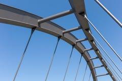 κατασκευή γεφυρών σύγχρονη στοκ εικόνες με δικαίωμα ελεύθερης χρήσης