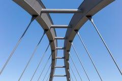 κατασκευή γεφυρών σύγχρονη στοκ φωτογραφία με δικαίωμα ελεύθερης χρήσης