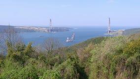 κατασκευή γεφυρών της Κωνσταντινούπολης τρίτη απόθεμα βίντεο