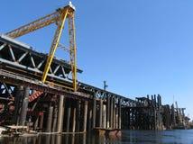 κατασκευή γεφυρών Στοκ Εικόνα