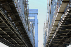 Κατασκευή γεφυρών στοκ φωτογραφία με δικαίωμα ελεύθερης χρήσης
